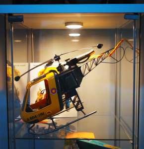 Museo del Juguete de Fompedraza - Helicoptero